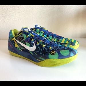Rare Kobe 9 IX low EM BRAZIL World Cup 646701-413